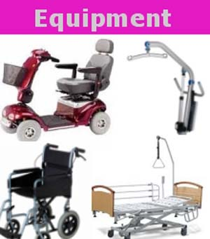 mobility equipment sales & rental