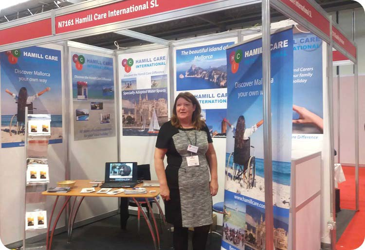 Hamill Care at Birmingham exhibition