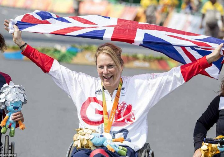 HCI sponsors Karen Darke, paralympic cyclist and triathlete