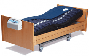 Disability bed and mattress