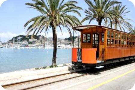 Tram Soller Mallorca